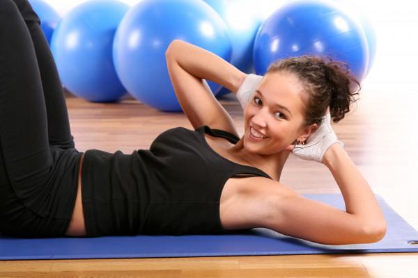 физические упражнения для похудения в животе и талии