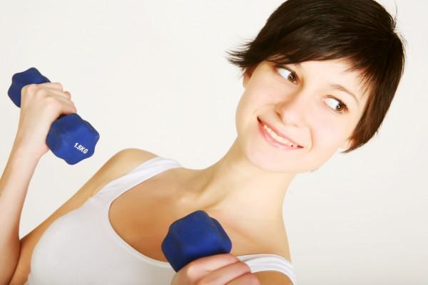 простые нагрузки для похудения в руках и ногах