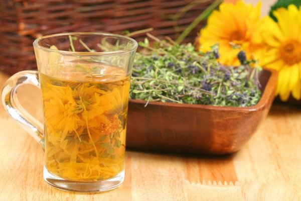 использование травяных слабительных средств для похудения
