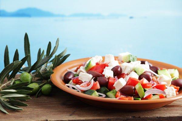 средиземноморская диета - одна из лучших для похудения
