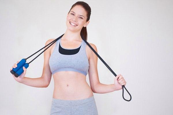какие есть упражнения со скакалкой для похудения