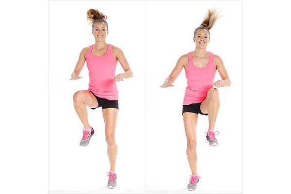 как правильно выполнять прыжки на месте для похудения