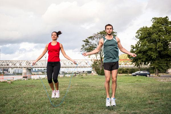 как выполнять прыжки на месте для похудения