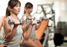 Лучшие упражнения с гантелями для женщин для похудения
