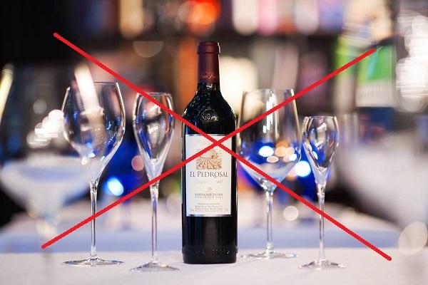 алкоголь нежелательно употреблять во время диеты